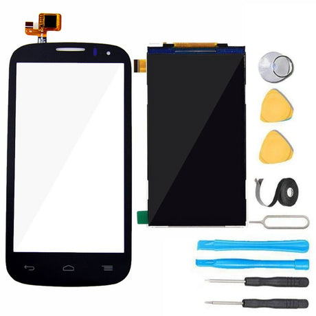 Alcatel One Touch Pop C5 LCD Display and Glass Screen + Touch Digitizer Replacement Premium Repair Kit - Black