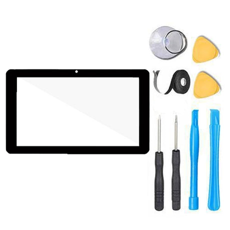 "Dragon Touch M7 7.0"" Tablet Glass Screen Replacement and Touch Screen Digitizer Premium Repair - Black"