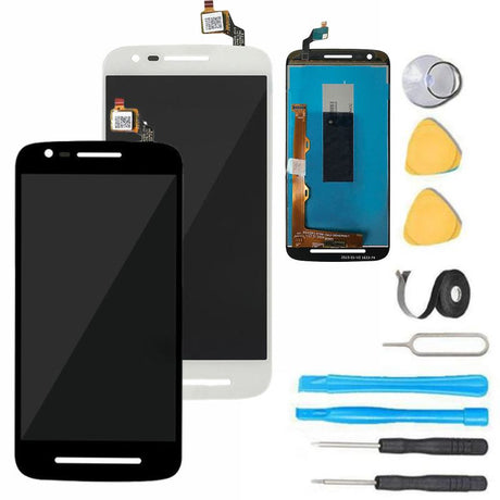 Moto E3 (3rd Gen) Glass Screen Replacement LCD parts and tools