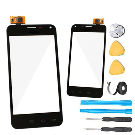 LG Enact VS890 Glass Screen Replacement + Touch Digitizer Replacement Premium Repair Kit - Black