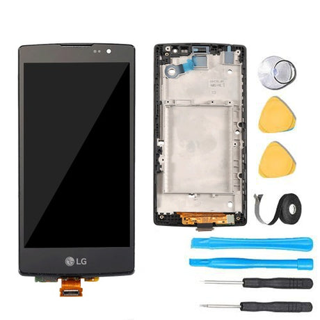 LG Escape 2 Glass Screen Replacement + LCD +Touch Digitizer Premium Repair Kit LTE H445 H443 US550 H441 - Black