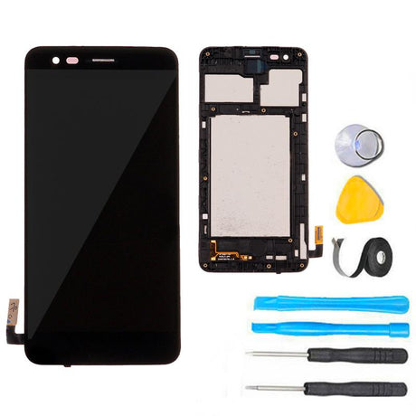 LG Phoenix 3 Screen Replacement LCD plus frame plus tools