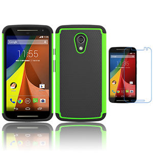 Rugged Armor Protective Case Cover - Motorola Moto G (1st generation)