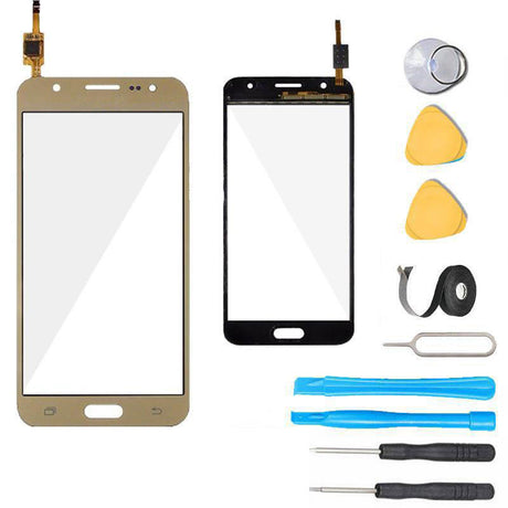 Samsung Galaxy J5 Glass and Touch Screen Digitizer Replacement Premium Repair Kit J500- Gold