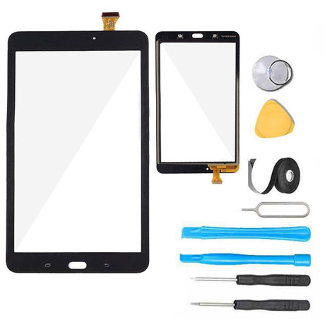 Samsung Galaxy Tab E 8..0 Screen Replacement Glass + Touch Digitizer Repair Kit T377 T378 - Black