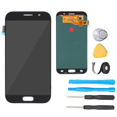 Samsung Galaxy A5 (2017) Screen Replacement LCD Digitizer Assembly Premium Repair Kit A520 - Black
