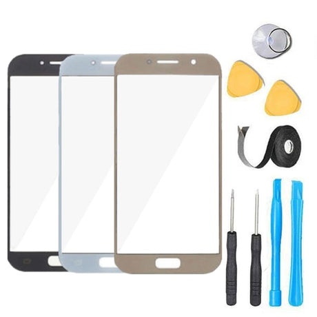 Samsung Galaxy A5 (2017) Glass Screen Replacement Premium Repair Kit SM-A520F A520F/DS A520K A520L A520S - Black White or Gold