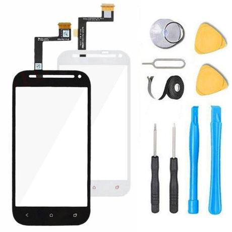 HTC One SV Glass Screen Replacement parts plus tools