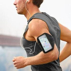 iPhone 6 Sports Armband Case - Black - PhoneRemedies