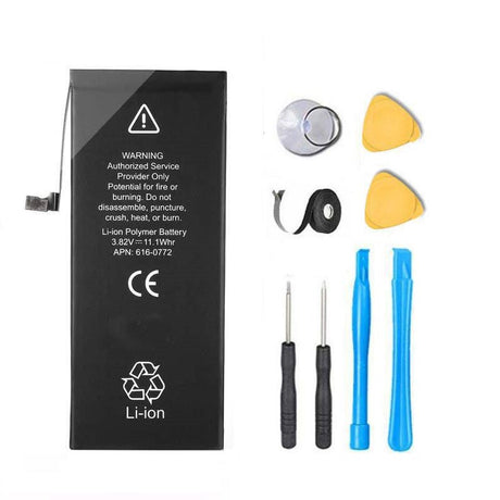 Apple iPhone 6 Replacement Battery 1810 mAh Premium Repair Kit