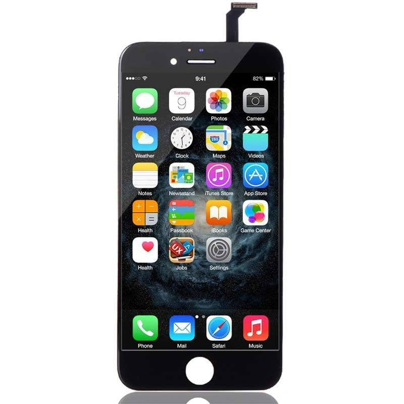 iPhone 6 LCD Screen Replacement and Digitizer Display- Black - PhoneRemedies