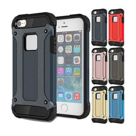 Rugged Armor Protective Hard Case Cover - All iPhone Models