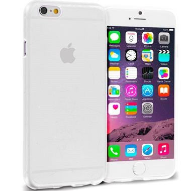 iPhone 6 Plus Soft Transparent Protective Phone Case - Clear - PhoneRemedies