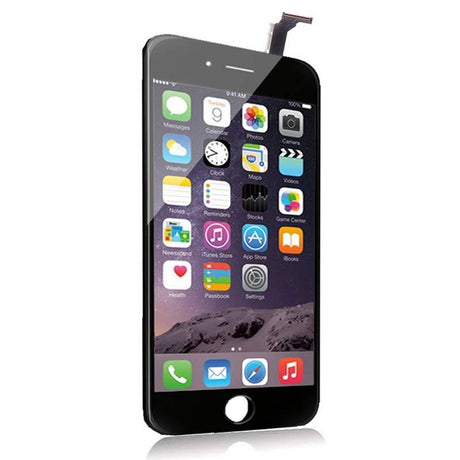 iPhone 6 Plus LCD Screen Replacement and Digitizer Display - Black - PhoneRemedies