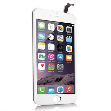 iPhone 6 Plus LCD Screen Replacement and Digitizer Display - White - PhoneRemedies