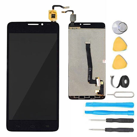Alcatel One Touch Idol X Screen Replacement LCD and Digitizer Premium Repair Kit 6040 6040A 6040D 6040X - Black