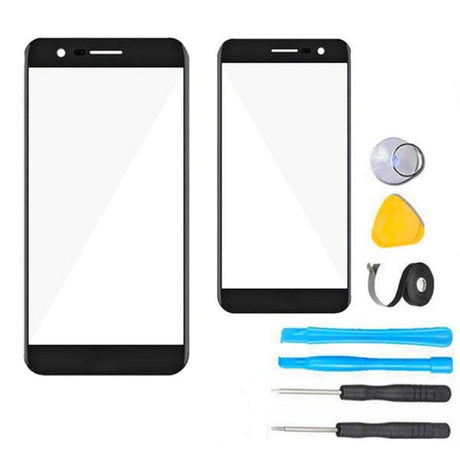 LG K4 (2017) Glass Screen Replacement Premium Repair Kit M160 M153 L58VL L57BL - Black
