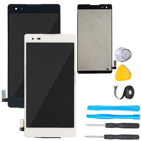 LG K6 X Style Screen Replacement + LCD + Digitizer Display Premium Repair Kit - Black or White