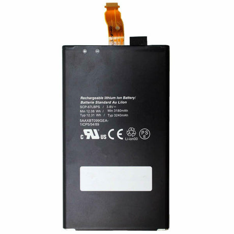 Kyocera Duraforce Pro Battery Replacement E6820 E6810 SCP-67LBPS E6833 3240mAh