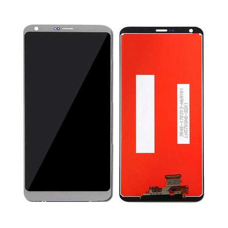 LG G6 Screen Replacement LCD and Digitizer - Gray / Silver