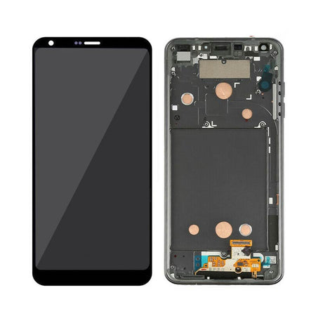 LG G6 Screen Replacement LCD with FRAME - Black