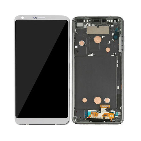 LG G6 Screen Replacement LCD with FRAME - White