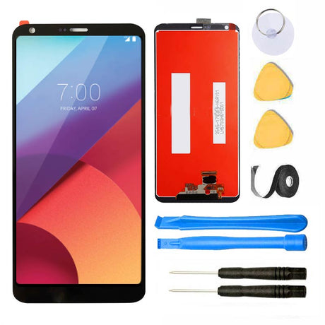 LG G6 Screen Replacement Glass LCD Digitizer Premium Repair Kit - Black