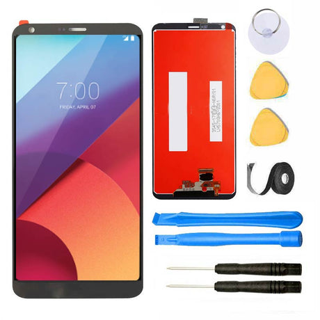 LG G6 Screen Replacement Glass LCD Digitizer Premium Repair Kit - Gray