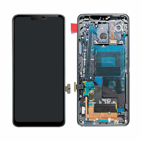 LG G7 ThinQ Screen Replacement LCD with Frame - Black