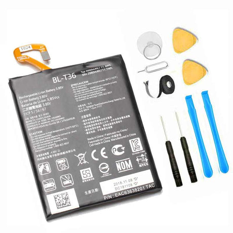 LG K30 battery replacement with tools