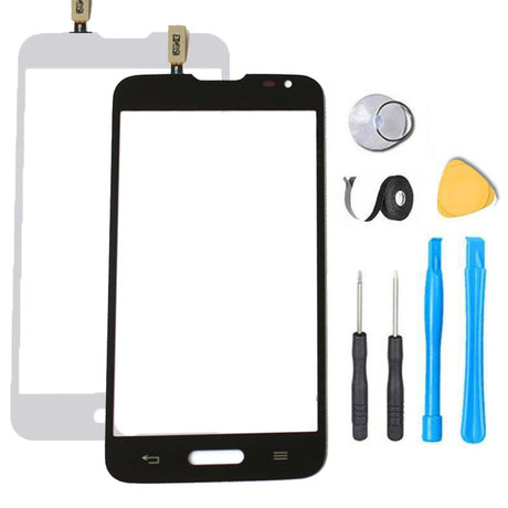 LG Optimus Ultimate 2 Glass Screen Replacement Touch Digitizer Premium Repair Kit 41C L41C D505 - Black or White