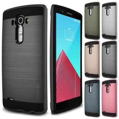 Slim Brushed Protective Hard Case Cover - LG G2 | LG G3 | LG G4
