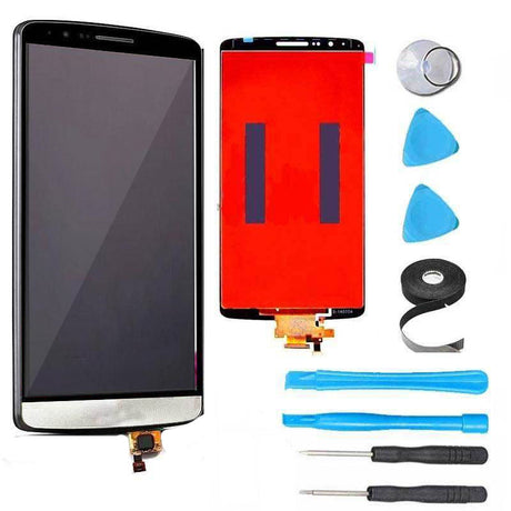 LG G3 LCD Screen Replacement and Digitizer Premium Repair Kit  - White