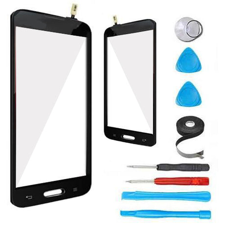 LG Lucid 3 Glass Screen touch Digitizer Replacement Premium Repair Kit VS876 - Black
