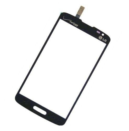 LG Lucid 3 Glass Screen touch Digitizer Replacement Premium Repair Kit VS876 - Black - PhoneRemedies
