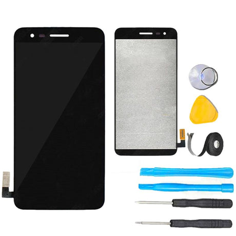 LG K4 (2017) Screen Replacement + LCD + Touch Digitizer Premium Repair Kit LG-M150 M151 LGM153- Black