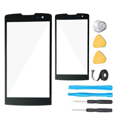 LG Leon Glass Screen Replacement Premium Repair Kit H324 H320 H340 H340N MS345 - Black
