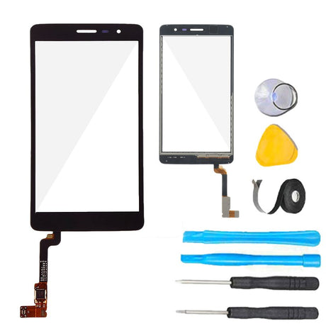 LG Prime II Glass Screen Replacement parts plus tools