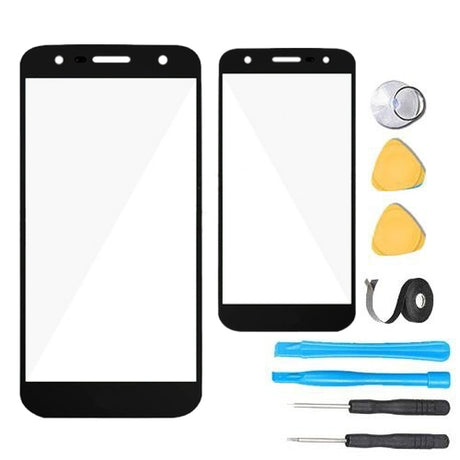 LG Fiesta Glass Screen Replacement parts plus tools