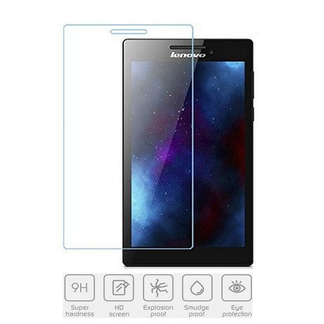"Premium Lenovo Tab 3 7"" Tempered Glass Screen Protector"