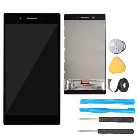 "Lenovo Tab 3 7"" Glass Screen + LCD Screen + Digitizer Assembly  Premium Repair Kit TB3-730 730F 730M 730X- Black"