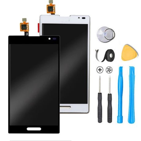 LG Optimus L9 Screen Replacement + LCD + Touch Digitizer Premium Repair Kit P760 - Black or White