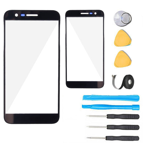 LG K20 V Glass Screen Replacement parts plus tools
