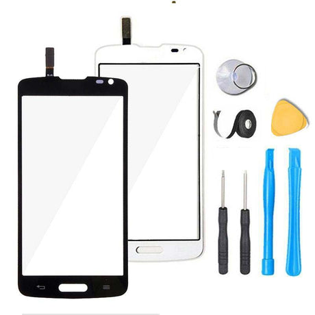 LG Optimus L90 Glass Screen Replacement + Touch Digitizer Premium Repair Kit D405 D415 - Black or White