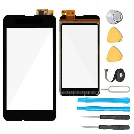 Nokia Lumia 530 Glass Screen + Touch Digitizer Replacement Premium Repair Kit N530