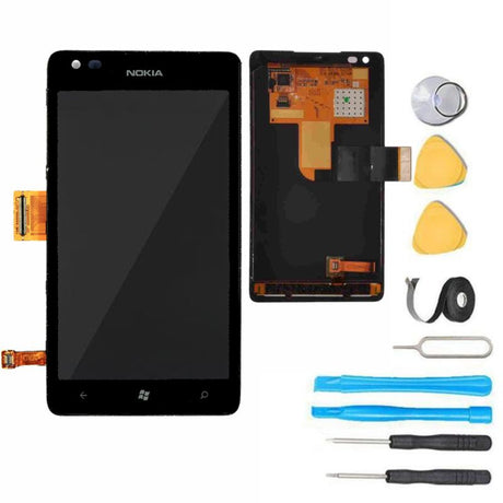 Nokia Lumia 900 Screen Replacement LCD + Digitizer Premium Repair Kit