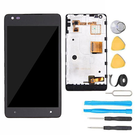 Nokia Lumia 900 Screen Replacement LCD + Frame + Digitizer Premium Repair Kit