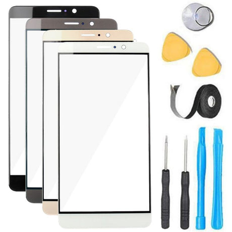 Huawei Mate 9 Glass Screen Replacement Premium Repair Kit - Black, White, Brown, Gold