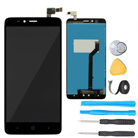 ZTE Max Duo Screen Replacement LCD Digitizer Assembly Premium Repair Kit Z963 Z962- Black
