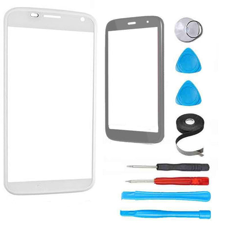Motorola Moto G (First Generation) Glass Screen Replacement Premium Repair Kit - White